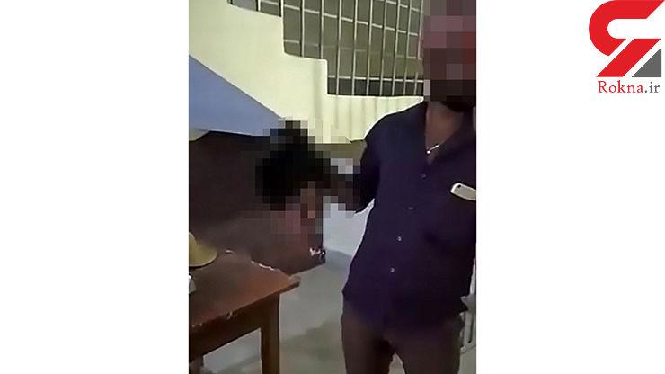 مردی سر بریده زن خائنش را نزد پلیس برد ! + عکس شوک آور
