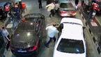 برخورد انضباطی شدید با 3 مامور خشن پلیس شیراز در حادثه پمپ بنزین +فیلم حادثه