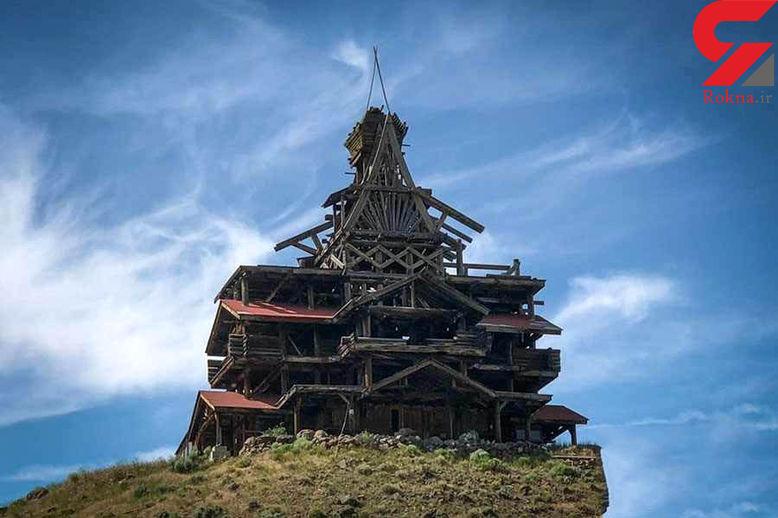 ساخت خانه ای با عشق که بلای جان صاحبش شد+عکس
