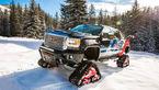 لذت رانندگی در برف را با این خودرو تجربه کنید