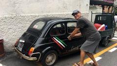 آقای بازیگر! گاراژ خونه ات چند متر است؟ +عکس