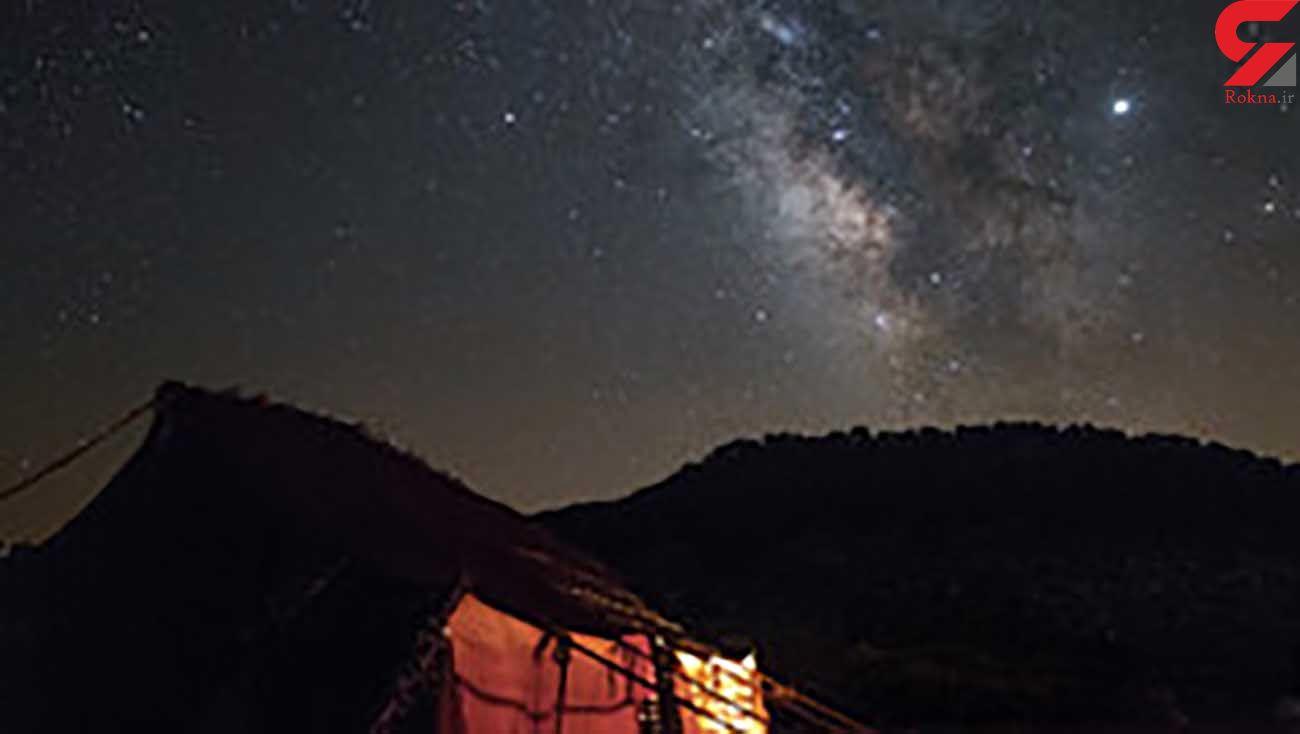 عکس هایی از آسمان پرستاره ایران