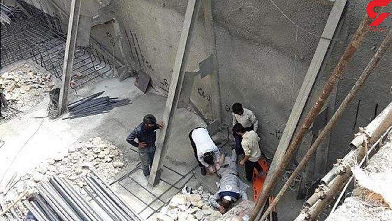 سقوط خونین کارگر جوان به عمق 6 متر در محل گودبرداری
