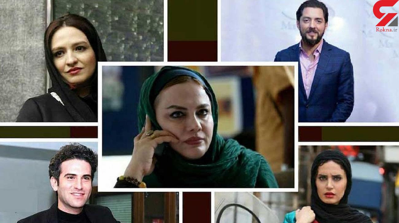 حضور عوامل فیلم ابلق در کاخ جشنواره