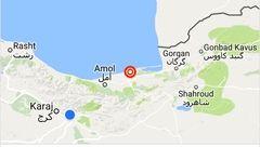 وقوع زلزله ۴.۷ ریشتری در جویبار مازندران +عکس نقشه محل وقوع