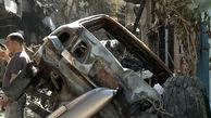 خرابیهای محل سقوط هواپیمای ایرباس A320 پاکستان در کراچی + فیلم