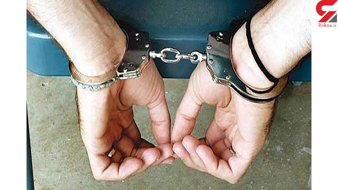 دستگیری قاچاقچی توتون و تنباکو در جنوب تهران