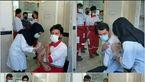 نجاتگران جمعیت هلال احمر هشترود واکسیناسیون ضد کرونا تزریق کردند