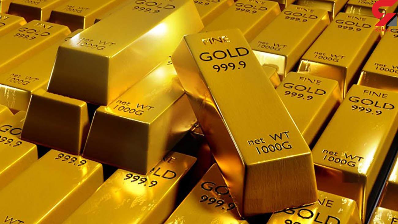 قیمت جهانی طلا امروز جمعه 7 آذر ماه 99