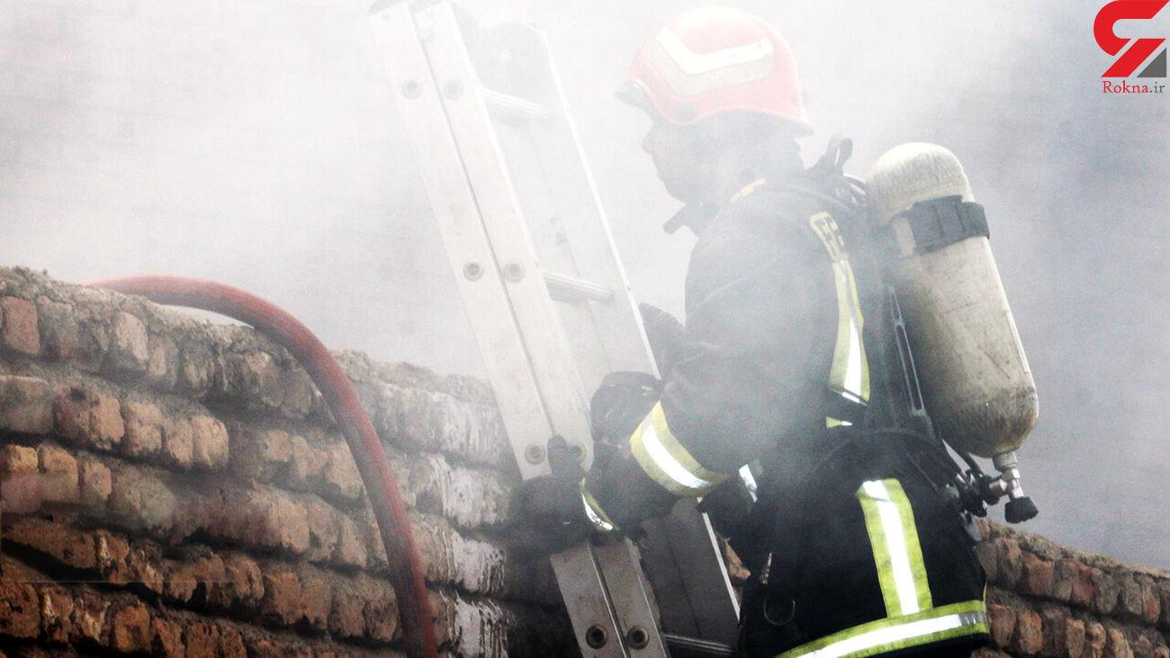 آتش سوزی در رستوران / در کرمان رخ داد