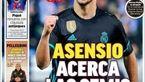 صفحه اول روزنامه های امروز اسپانیا