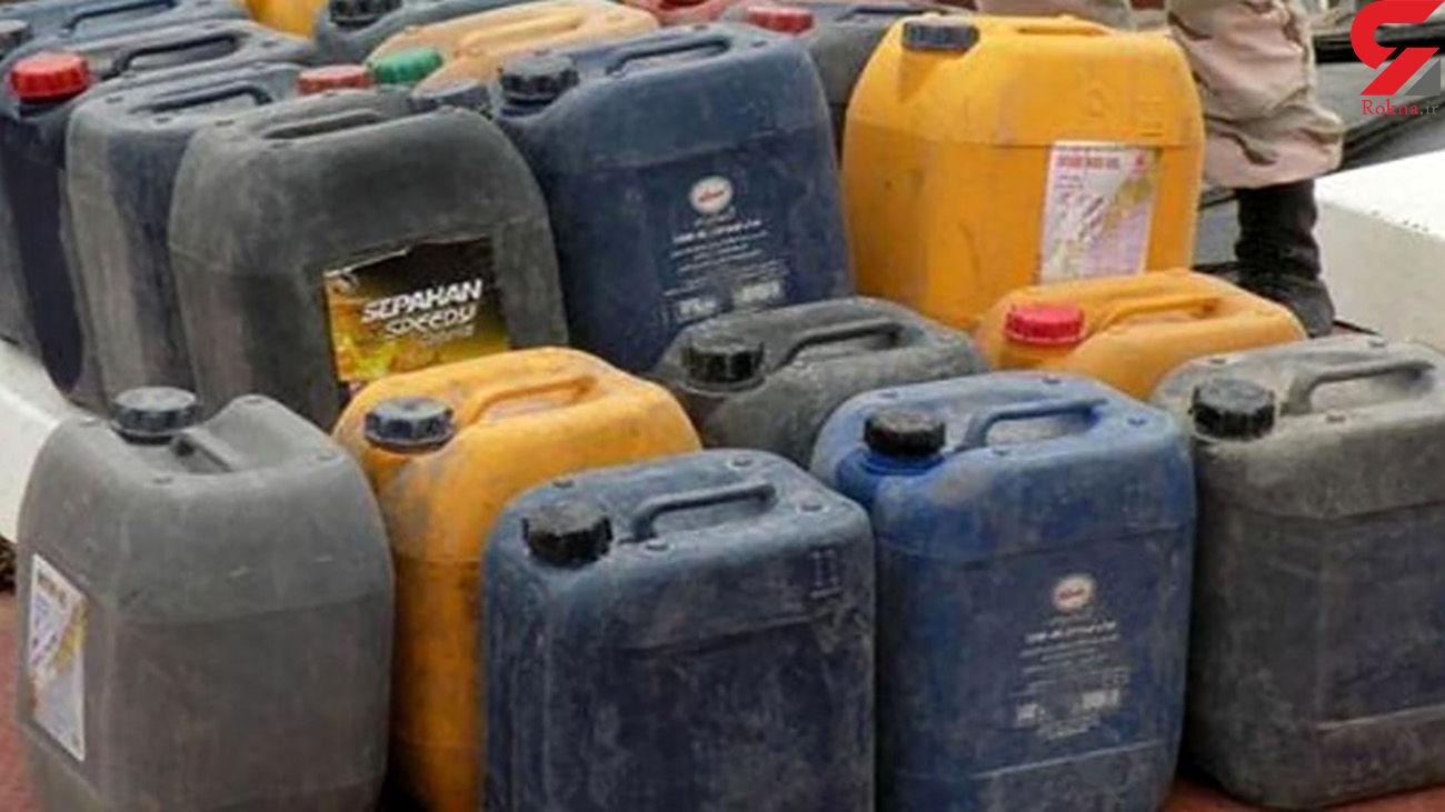 کشف 6 هزار لیتر گازوئیل قاچاق در قم
