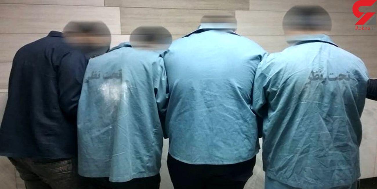 بازداشت سارقان خانه های خالی در مهدی شهر