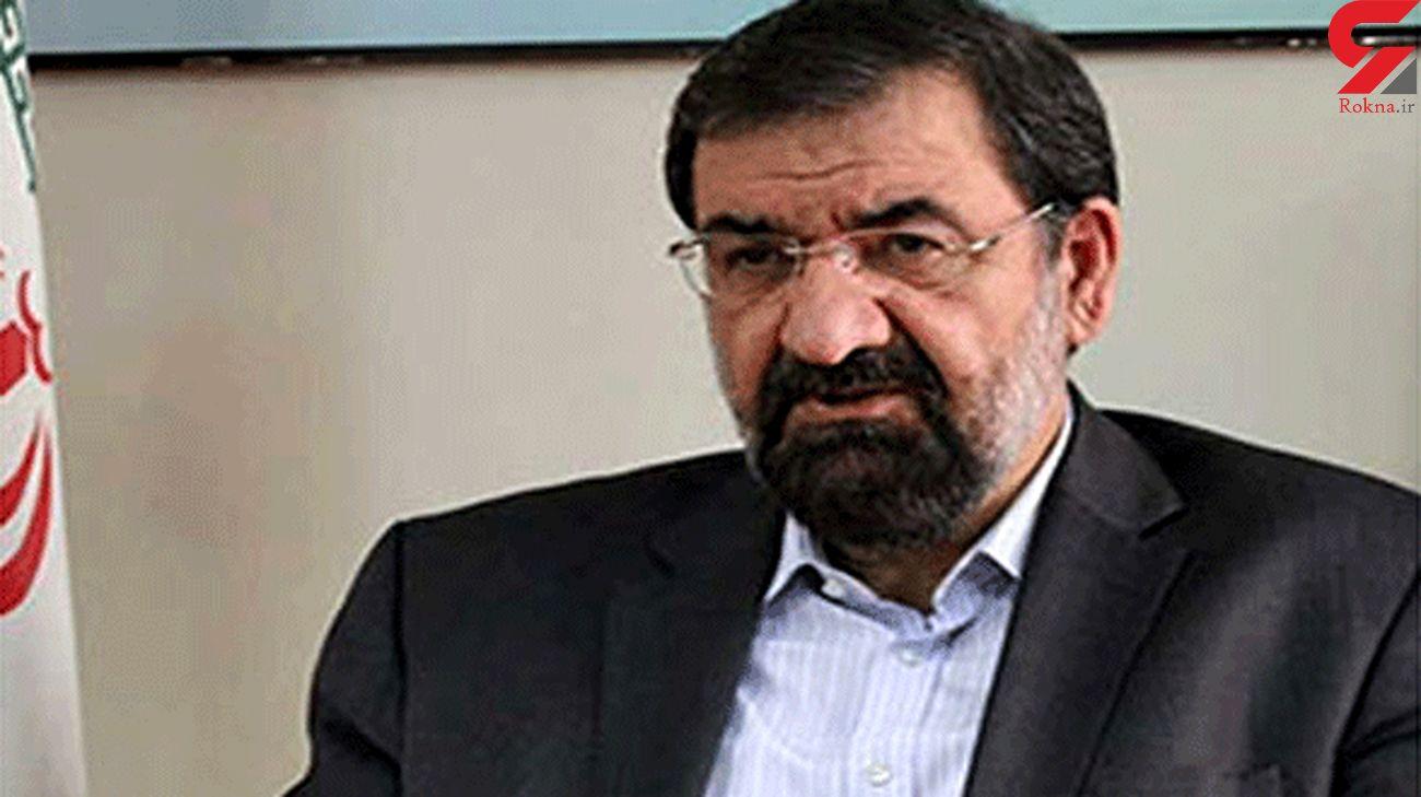 توییت محسن رضایی درباره قتل قاضی منصوری