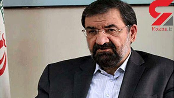 واکنش محسن رضایی به توئیت فارسی ترامپ +عکس