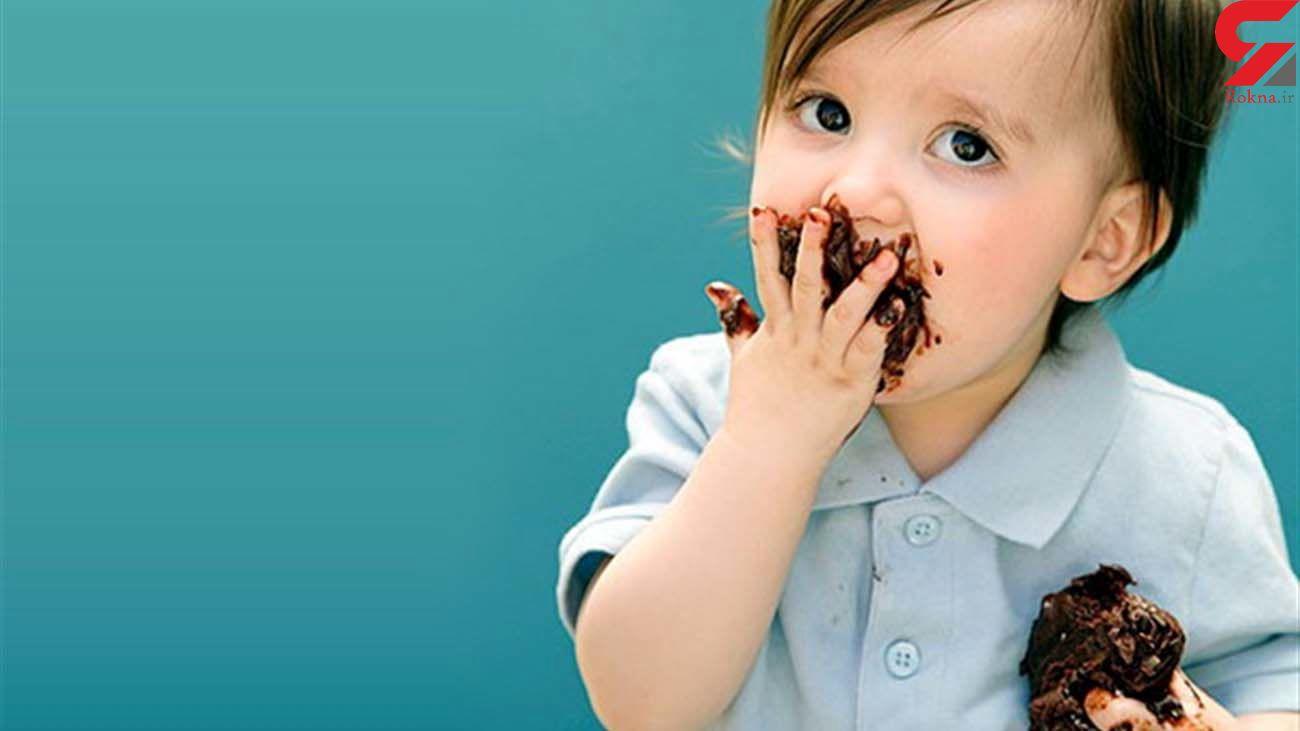 مضرات شکلات کاکائو برای کودکان