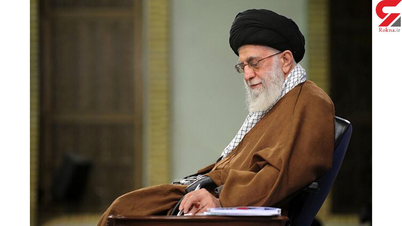 واکنش رهبر معظم انقلاب به سازش کشورهای عربی با رژیم صهیونیستی