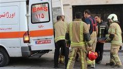 سقوط همزمان ۲ مرد به چاهک آسانسور + عکس