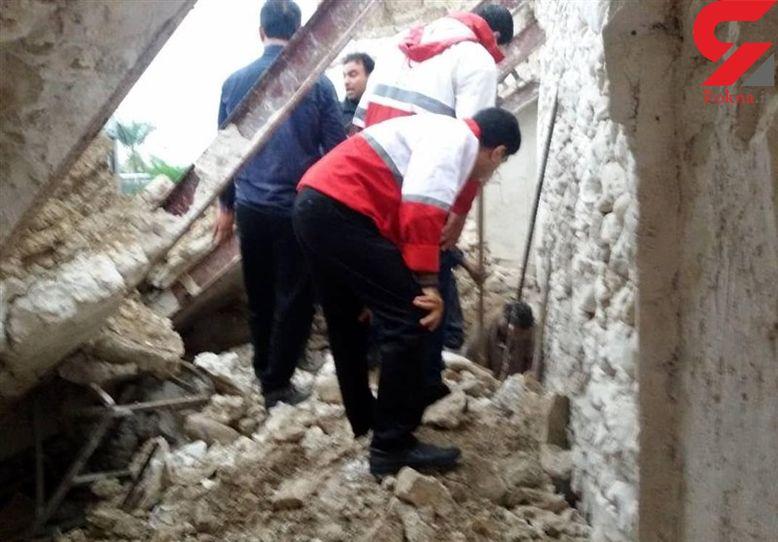 زنده به گور شدن۶ بوشهری در ریزش مغازه ! + عکس عملیات
