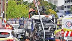 8 کشته و زخمی به خاطر تصادف وحشتناک در سیدنی