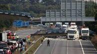 عکس ریزش مرگبار یک پل معلق / فرانسه
