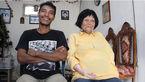 قرار عاشقانه زن 82 ساله خوش صدا با پسر جوان+عکس