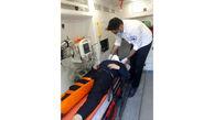 7 زن و مرد زخمی از 2 پراید له شده بیرون کشیده شدند + عکس