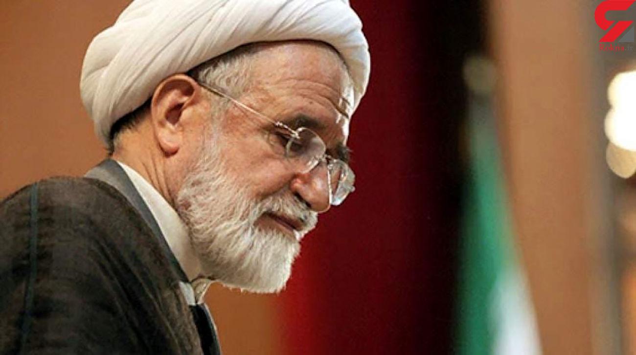 مهدی کروبی از دبیرکلی حزب اعتماد ملی استعفاء داد