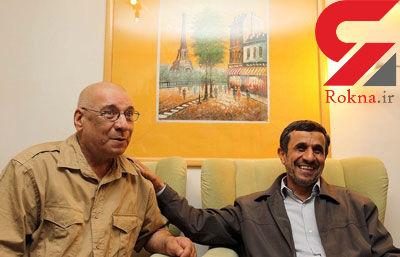 حسین محباهری : من به رییس جمهور نمی توانم بگویم چرا به عیادت من آمدی؟ +عکس