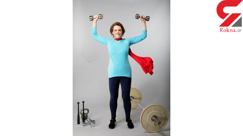 پیرترین وزنه بردار زن دنیا+عکس