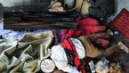 مرگ دلخراش 3 تن در نیشابور +عکس محل حادثه