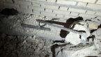 سوراخ کردن دیوار بانک شادگان توسط سارقان+ عکس