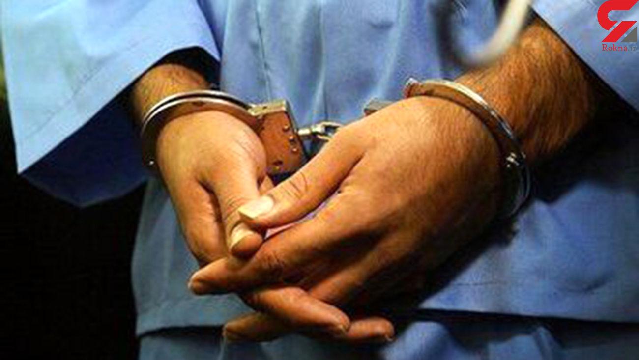 دستگیری شرور سابقه دار در زهک