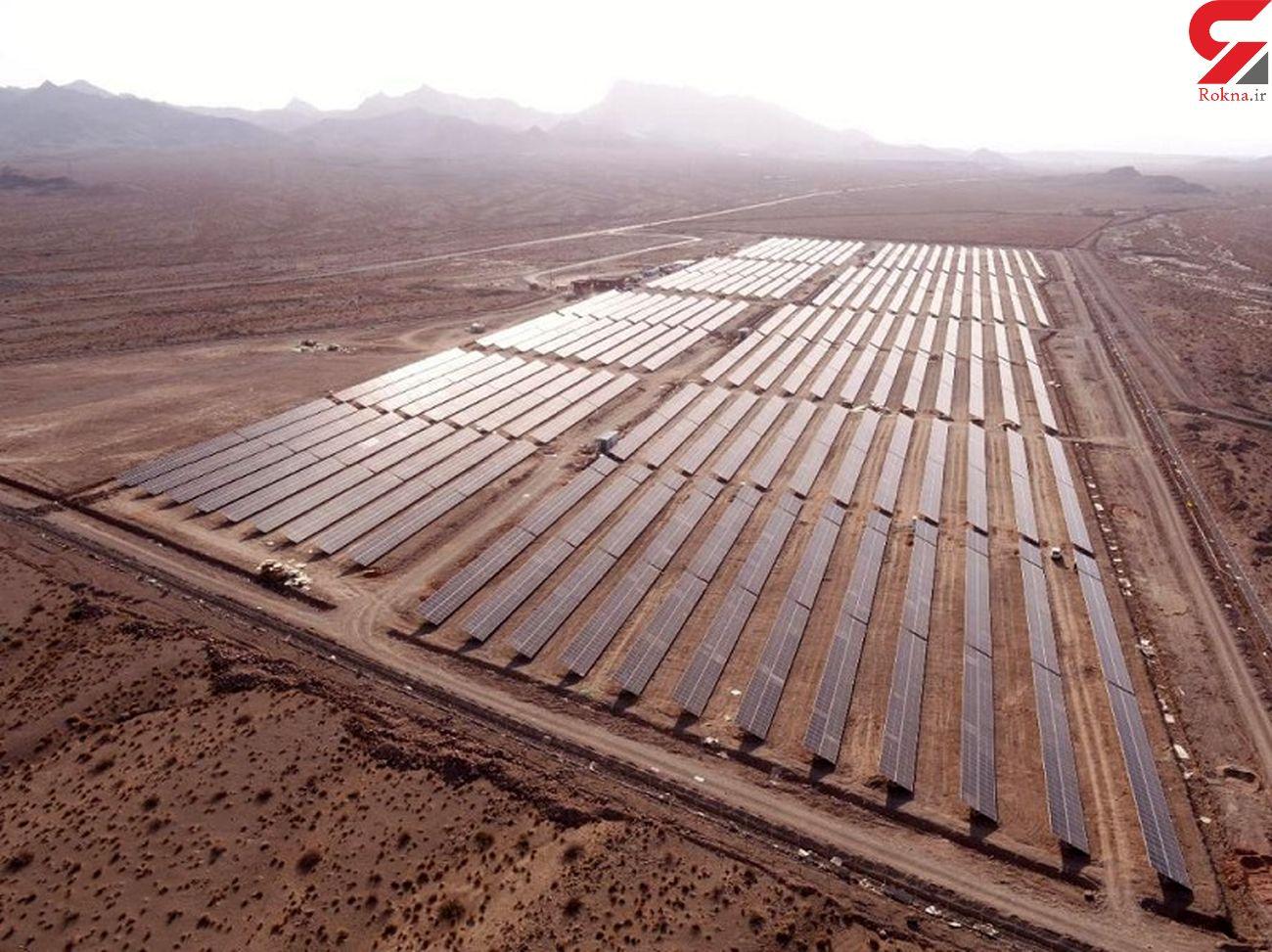 بیش از 4900 مگاوات ساعت انرژی در نیروگاه خورشیدی کوشک به بهره برداری رسید