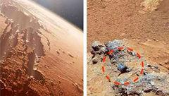 کشف فسیل موجود دریایی در مریخ