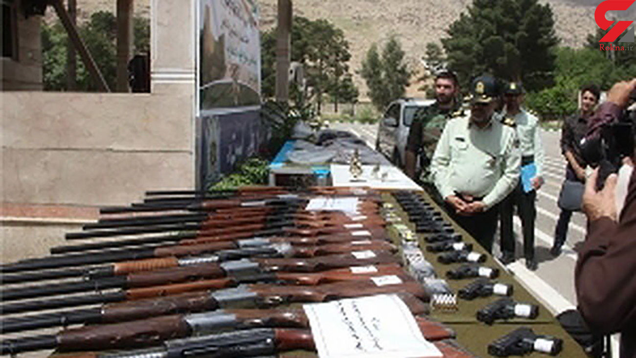 کشف سلاح جنگی در تهران / مرد مسلح بازداشت شد