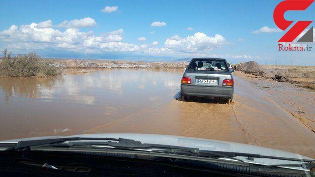 وضعیت ترافیکی راه های کشور/ اعلام محورهای مسدود مناطق سیلزده