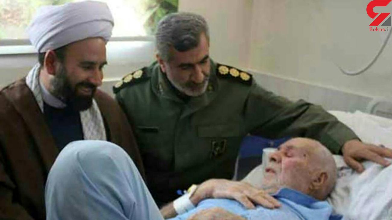 پدر ۳ شهید در مراغه دارفانی را وداع گفت + عکس