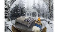 این هتل حبابی شکل در ایسلند است+تصاویر