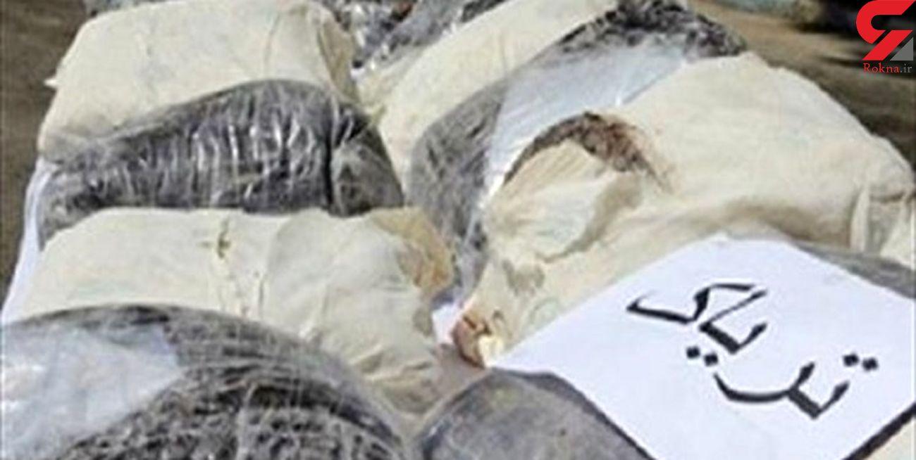 دستگیری 4 سوداگر مرگ با 155 کیلوگرم تریاک در سمنان