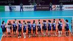قهرمانی والیبال ایران بدون باخت یک ست در بازی های آسیایی جاکارتا