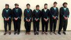 اولین عکس بدون پوشش از 7 تروریست دستگیر شده + جزئیات