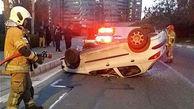راننده پژو 206 از تصادف مرگبار جان سالم به در برد / در تهران رخ داد
