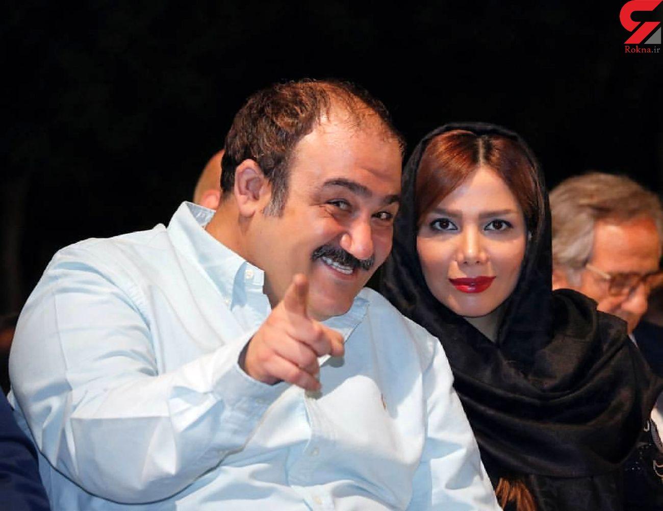 عکس مهران غفوریان و مادرش پس از عمل جراحی