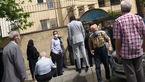 دعوای 80 ساله ها در صف واکسیناسیون در نبود سامانه ثبت نام و نوبت دهی/ وزارت بهداشت بی اعتنا! + فیلم