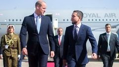 آغاز سفر شاهزاده ویلیام به خاورمیانه