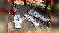 جسد زن 35 ساله همراه 2 کودکش در استخر خانه پیدا شد / در روستای وشنوه رخ داد+ عکس