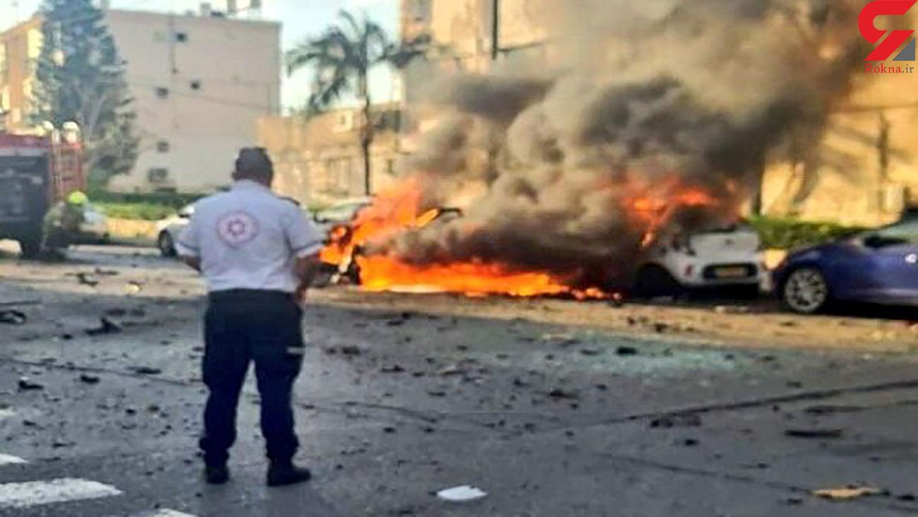 انفجار مرگبار در تل آویو + عکس