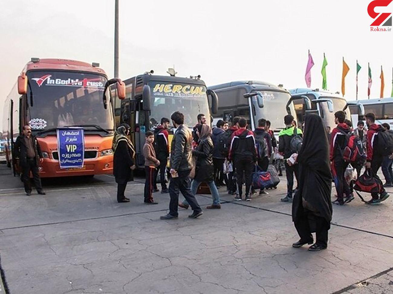افزایش 30 درصدی نرخ کرایه اتوبوسهای بینشهری