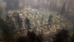 تصاویر وحشتناک / آتشی که به جان کالیفرنیا افتاد